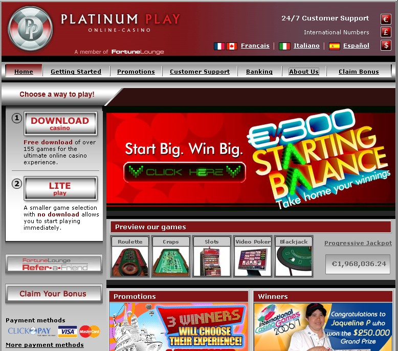 online game casino fast money